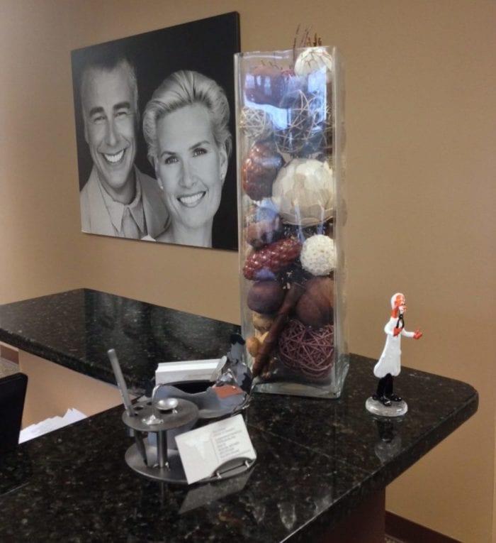 Rockville MD dentist dr. sarkarzadeh office interior